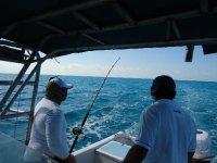 Pescando en holbox