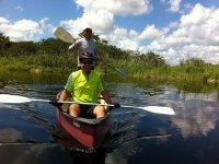 Paseo en kayac por el corchal
