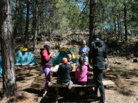 Camp with kids