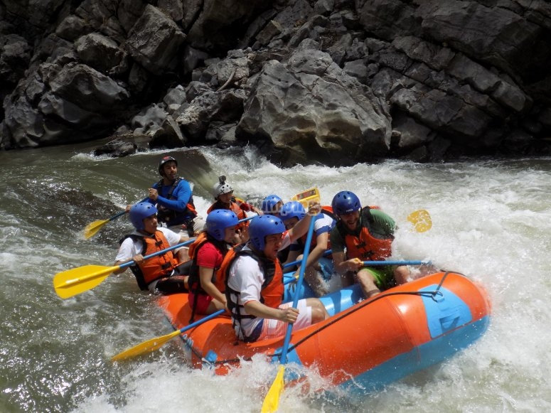 Rafting in Cuernavaca