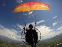 Photo from the paramotor