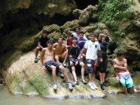 Diversion en cascadas
