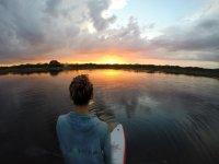 Paddle board in Yucatan
