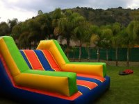 Inflatables in the garden