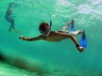Snorkel en Playa