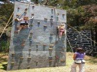 Children climbing
