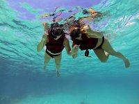 Experiencia de snorkel en las aguas cristalinas de Cozumel