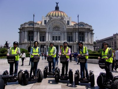 2h segway tour across historic center