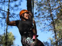 Rappelling activity