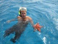 Tour en barco panorámico +snorkel en Cozumel