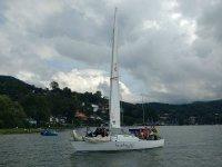 Sailboat ride in Valle de Bravo