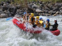 adrenaline in rafting