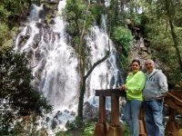 Come and see the waterfall in couple