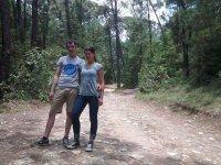 Caminata en pareja por Valle