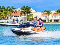 Sail the Caribbean Sea on a motorbike