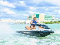 Enjoy Cancun on a jet ski