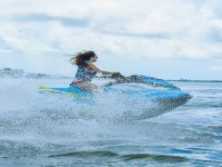 Feel the adrenaline of riding a jet ski