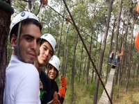 Enjoy the canopy with friends