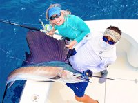 Have the opportunity to catch a swordfish