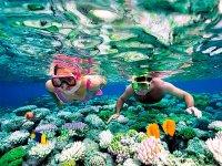 Haciendo snorkel en La Riviera
