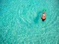 Nadando por el Caribe