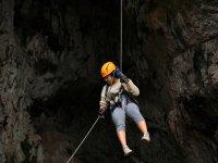 rappel in free fall