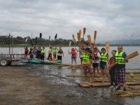 Bamboo kayaks and rafts