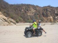 ATV on the beach