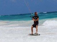 Maestro de kitesurf