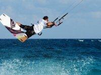Velocidad y kitesur