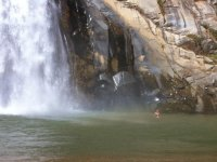 Waterfall of veil