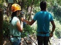 Adventure in zip line