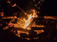 Noche de fogata