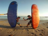Kids and surfing
