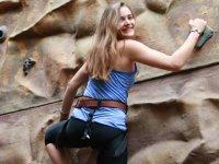 Enjoying the climb