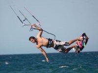 Practicas de kiteboarding