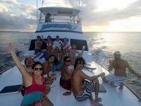 Party at sea