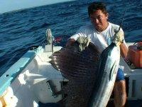 Experiencia de pesca en Akumal