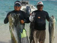 Jornada de pesca en el Caribe