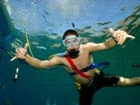 Snuba and snorkel