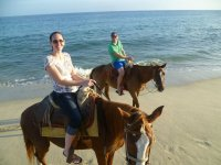 Paseos a caballo en Baja