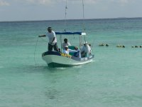 Fishing in our boats