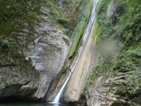 Waterfall descent