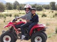 The kids in ATV
