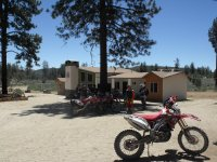 Motorcycle rental on the ranch