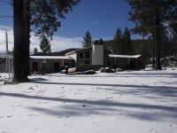 Snowy ranch