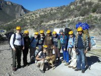 Rappelling group
