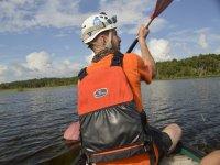 rappelling canoe rappelling