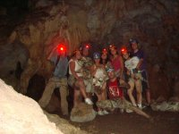 in the caves and groups