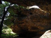 Descent through caves